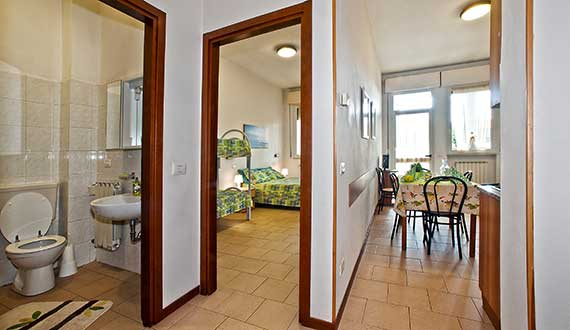 Two-Room Flat 4-5 People in Marina di Massa